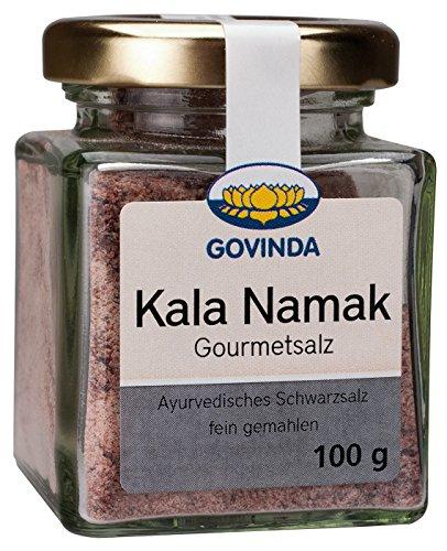 Govinda Kala Namak Gourmetsalz (konv. Anbau), 100 g