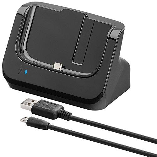 Goobay 2-in1 Ladestaton Dockingstation für Samsung S4 Micro-USB