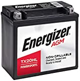 Energizer TX20HL AGM Motorcycle and Atv 12V Battery, 310 Cold Cranking Amps and 18 Ahr. Replaces: YTX20L-BS and others