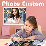 HuaCan Custom Diamond Painting Kits for Adults Personalized Photo Customized Full Square Drill 5D DIY Rhinestone by Number Kit Private Picture Arts Craft for Home Wall Decor, 30x40cm/11.8x15.7in