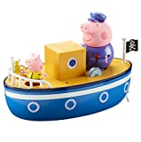 TM TOYS 05060 Wutz Peppa 4 cm Grandpa Pig 's Bath Time Boot