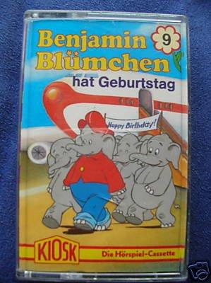 Benjamin Blümchen hat Geburtstag(Hörspiel-Cassette 9 )