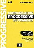 Communication progressive du français - Niveau débutant complet (A1.1) - Livre + CD + Livre-web - Nouvelle couverture