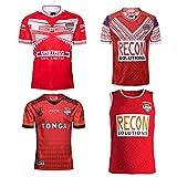 Maillot de Rugby pour Homme, T-Shirt d'entraînement de Polo de Rugby de Tonga 2019, Haut de Sport de Football de supporteur 2017, Cadeau d'anniversaire-2019.Redwine-XXXL