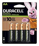 Duracell NiMH Rechargeable AA Batteries (2500mAh)