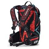 USWE Hajker 30L Wanderrucksack Adventure Daypack mit Wasserdichtem Rolltop für Fahrrad Speed Wandern Bergsteigen für Damen und Herren Schwarz