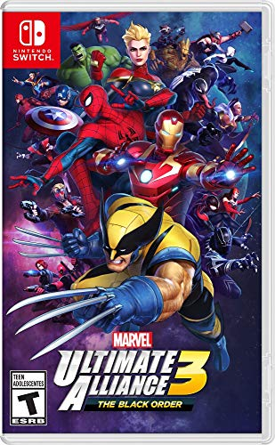 Marvel Ultimate Alliance 3: The Black Order – Nintendo Switch – Standard Edition