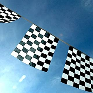 Chequered Flag Bunting by Flag Co