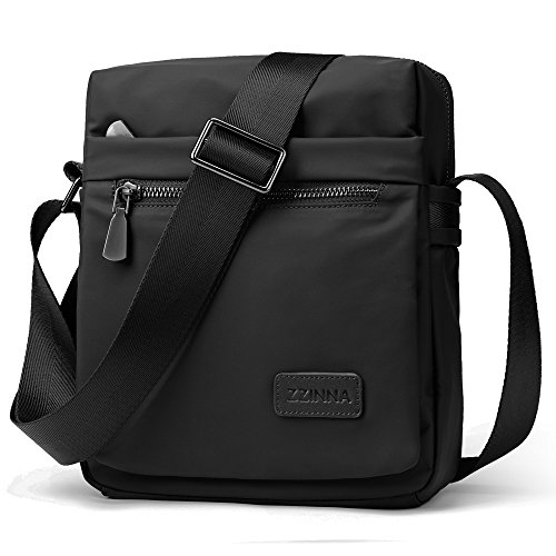 ZZINNA Man Purse Crossbody Bag Shoulder Bags Waterproof Man Bag Small Messenger Bags for Men and Women