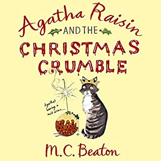 Agatha Raisin and the Christmas Crumble cover art