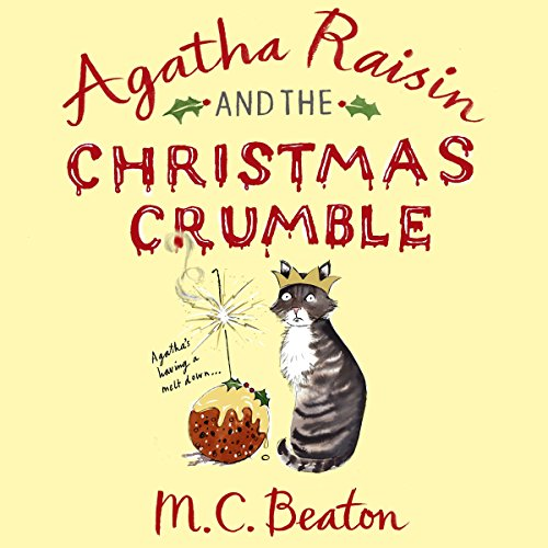 Agatha Raisin and the Christmas Crumble audiobook cover art