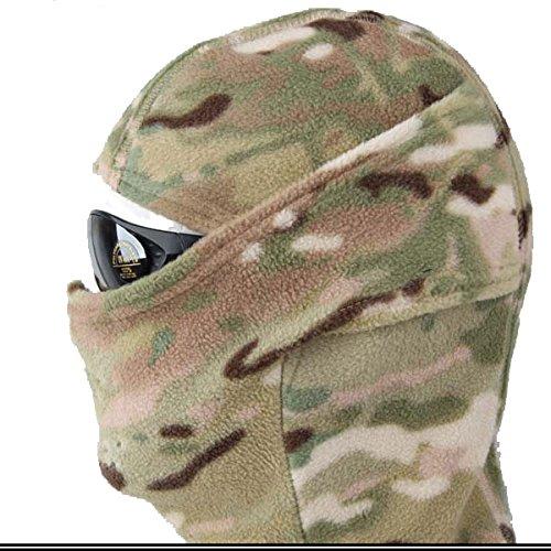 Worldshopping4U Máscara de protección integral de cara completa para paintball militar táctica al aire libre