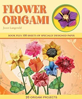 Flower Origami (Origami Books) by Langeveld, Joost (2012) Hardcover