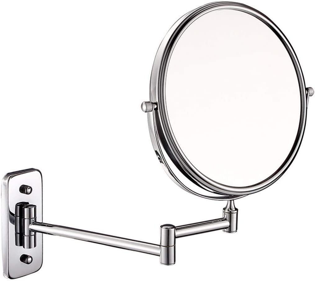 BINGFANG-W Special sale item Mirror Wall-Mounted Ranking TOP11 Makeup Inch Folding 6 Beau