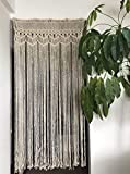 Macrame Curtain Panel for Doorway...