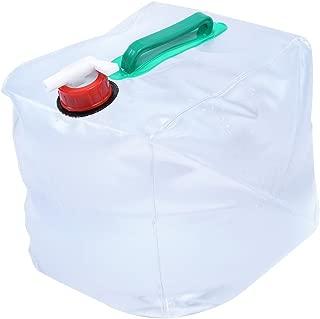 Alomejor 10L/20L Portador de Agua de Camping Plegable Depósito de Agua Grado Alimentario PE Sin BPA No Tóxico, Bolsa de Almacenamiento de Agua para Camping Senderismo Caza