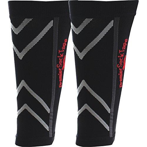 Premier Sock Tape PST Pro Compression Calf Booster Sleeve Größe XL (schwarz)