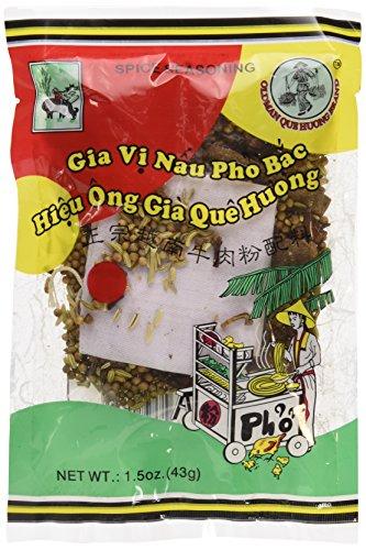 Old Man Que Huong Pho Bac Spice Seasoning (3 Packs)- Gia Vi Pho Bac