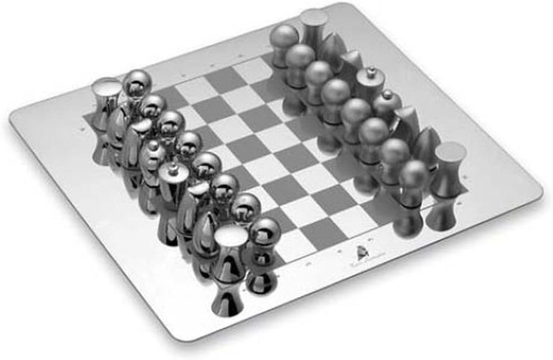 Ten Silbernes Schach mit Holzkiste cod.ELL 042 cm 23x23x5h by Varotto & Co. B07BFCDTXX Bekannt für seine gute Qualität   Um Eine Hohe Bewunderung Gewinnen Und Ist Weit Verbreitet Trusted In-und