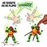 Rise of the Teenage Mutant Ninja Turtles 81404 ROTMNT-Deluxe Raphael Rad Schlagen Attacke Deluxs...