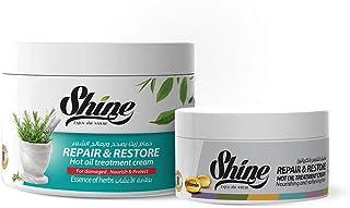Set of Keratin Hair Mask with Herbs 500 Ml + Keratin Mask 250 Ml Shine