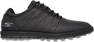 Skechers Mens 2021 Elite-Tour SL Golf Waterproof Spikeless Leather Golf Shoes