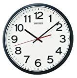 Seiko QXA750K - Reloj de Pared (plástico), Color Negro