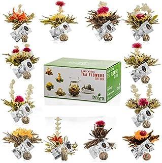 Sponsored Ad - Tealyra - 12 pcs Blooming Flowering Tea - 12 Variety Flavors of Finest Blooming Teas – All Tea Balls Indivi...