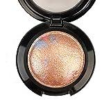 Mallofusa Single Shade Baked Eye Shadow Powder Palette...