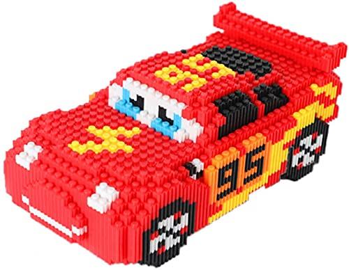 Modelo De Coche Bloque De Construcción 3D Puzzle DIY Regalo De Juguete Educativo para Adultos Niños (2900Pcs)