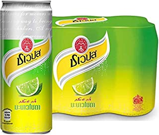 Schweppes Manao Lime Soda 330ml x 24 Cans