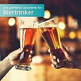 polar-effekt Leonardo Weizenbierglas 0,5l mit Gravur personalisierte Weizenglas Geschenk-Idee – Bierglas für Männer und Frauen zum Geburtstag – Motiv Ornament - 4