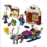 Juguetes Educativos para NiñOs, Modelo De Castillo RomáNtico Princess Castle City Set Compatible Friends Building Blocks 10666
