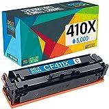 Do it wiser Cartuccia toner Compatibile con Stampante HP 410X 410A CF411X CF411A Color LaserJet Pro M477fdw M477fdn M477fnw M452 M377 (Multicolore, 4-Pack)