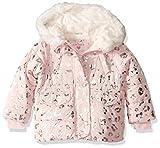 Carter's Girls' Toddler Heavyweight Winter Jacket Coat, Pink Leopard, 4T