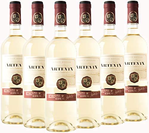 Artevin vino Blanco - Caja 6 botellas x 750 ml (Caja 6 botellas)