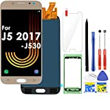 LCD Screen Replacement Touch Digitizer Display 5.2' (Gold) for Samsung Galaxy J5 Pro 2017 J530 J530F J530S J530K J530L J530FM J530Y J530YM