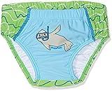 Playshoes Baby-Jungen UV-Schutz Windelhose Robbe Schwimmwindel, Blau (Blau/Grün 791), (Herstellergröße: 74/80)