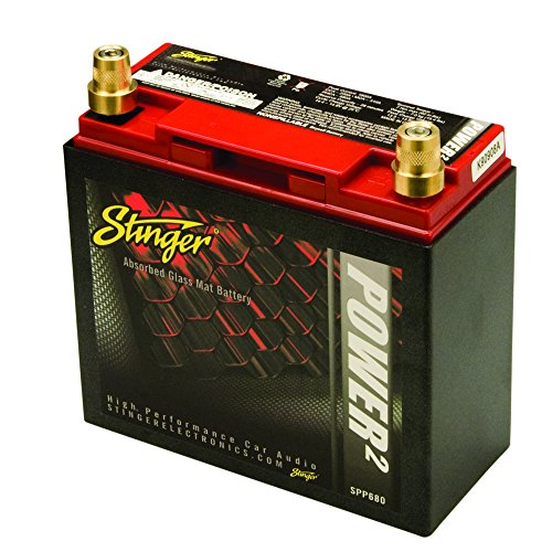 Stinger SPP680 680 Amp SPP Series Dry Cell Battery with
