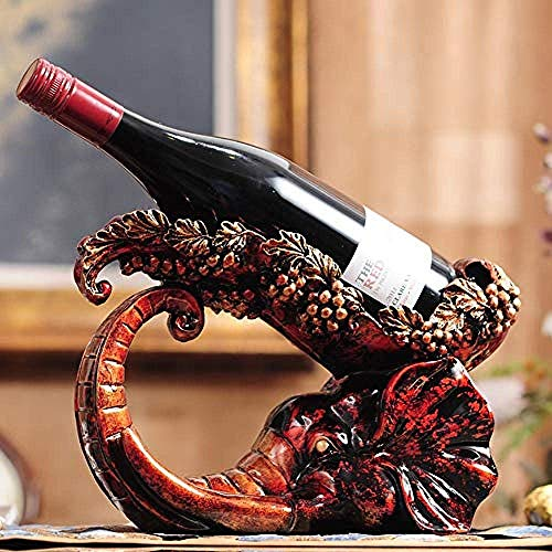 ZKAIAI Retro Moderno Estilo Europea botellero Vida en el hogar Simple habitación de Invitados de Interior Pantalla del Escritorio de la Cocina Escultura se destacan Las Decoraciones del Arte del Arte
