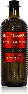 Carapelli - Il Centenario Extra Virgin Olive Oil: Cold-Pressed EVOO - 33.8 FL OZ - 1L