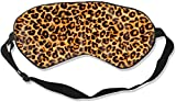 Antifaz para dormir con estampado de leopardo, ajustable, ligera y cómoda, para dormir, viajes, siestas de trabajo, meditación y noche