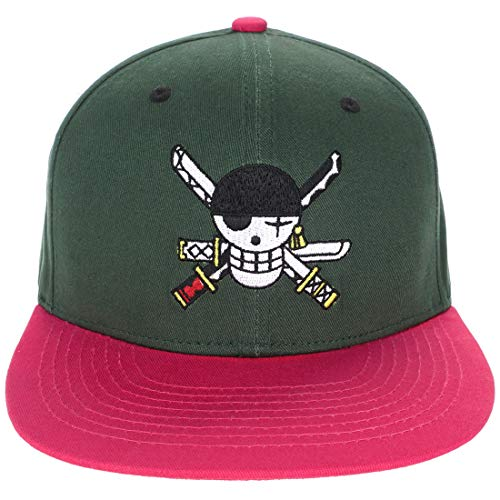 CoolChange One Piece Basecap mit Jolly Rogers von Lorenor Zorro