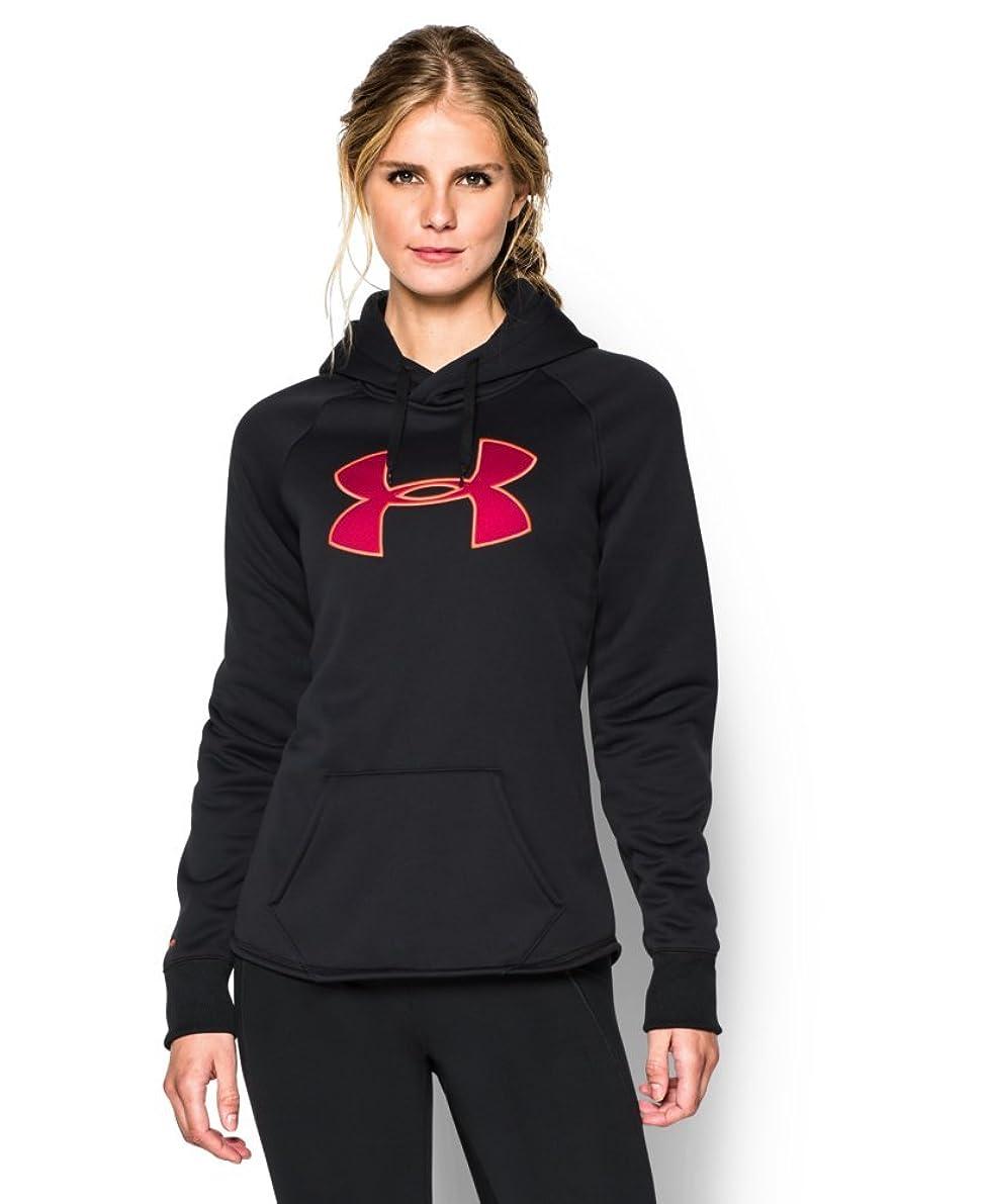 ピラミッドアボート敬意を表してUnder Armour Women 's UA Storm Armour Fleece Big Logo Hoodie
