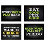 Summit Designs Gym Workout Motivational Quotes Wall...