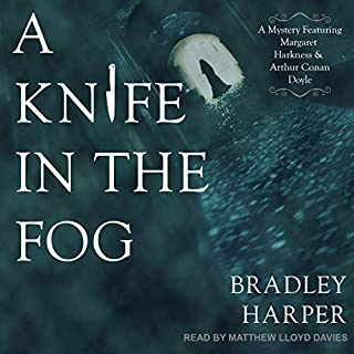 A Knife in the Fog audiobook cover art