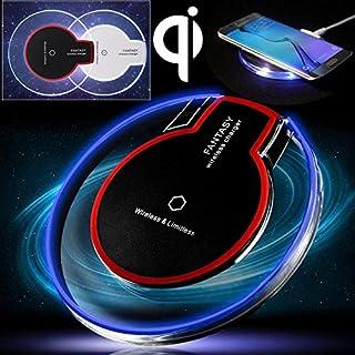 65c28051d77 corst® Qi – Cargador inalámbrico Qi Wireless Charger Charging Pad Dock  Station para Samsung Galaxy
