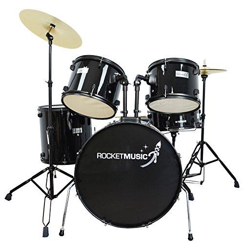 Rocket DKF01BK 22 inch Full Size Drum Kit