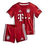 adidas Baby 20/21 FC Bayern Home Babykit, Fcbtru, 80
