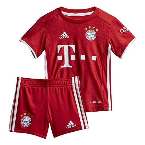 adidas Baby 20/21 FC Bayern Home Babykit, Fcbtru, 86